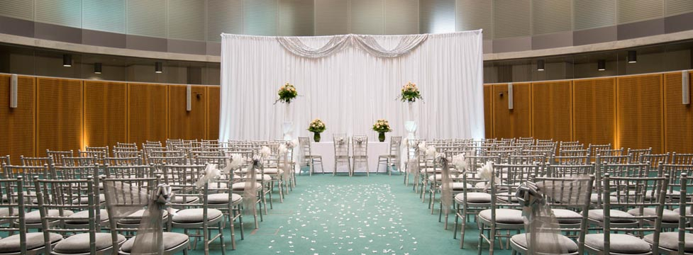 Conference Hall Wedding