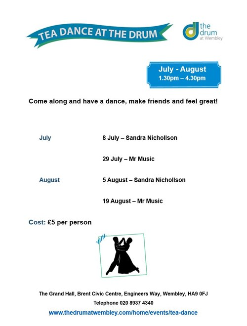 Tea Dance July August